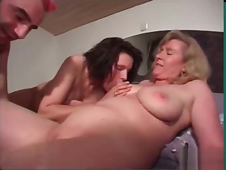 A Typical R�le of Party Turns Procure A Red Hot FFM Threesome