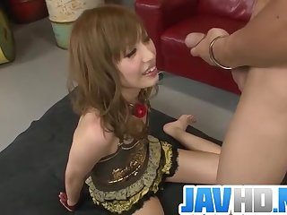 Sweet bimbo sure enjoys fucking in harsh ways - More at JavHD.net