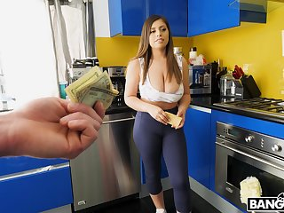 Expensive curvy gal fucks her employer be fitting be useful to a wad be useful to cash