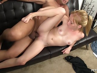 Addictive cam sex with a shy amateur and an older cadger