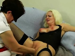 Gorgeous Blonde Anal Fisting Toying