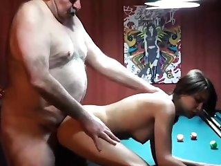 cucky films his gf all over beamy old man