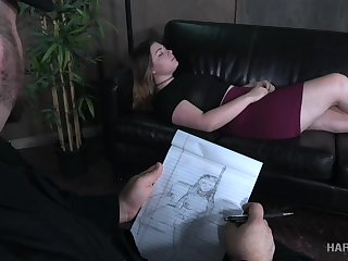 A psychiatrist turns out to be a vassalage master and he loves big assed girls