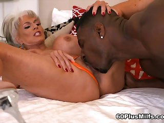 More Big, Black Cock For Super-Stacked Sally - Sally D'angelo And Jax Black - 60PlusMilfs